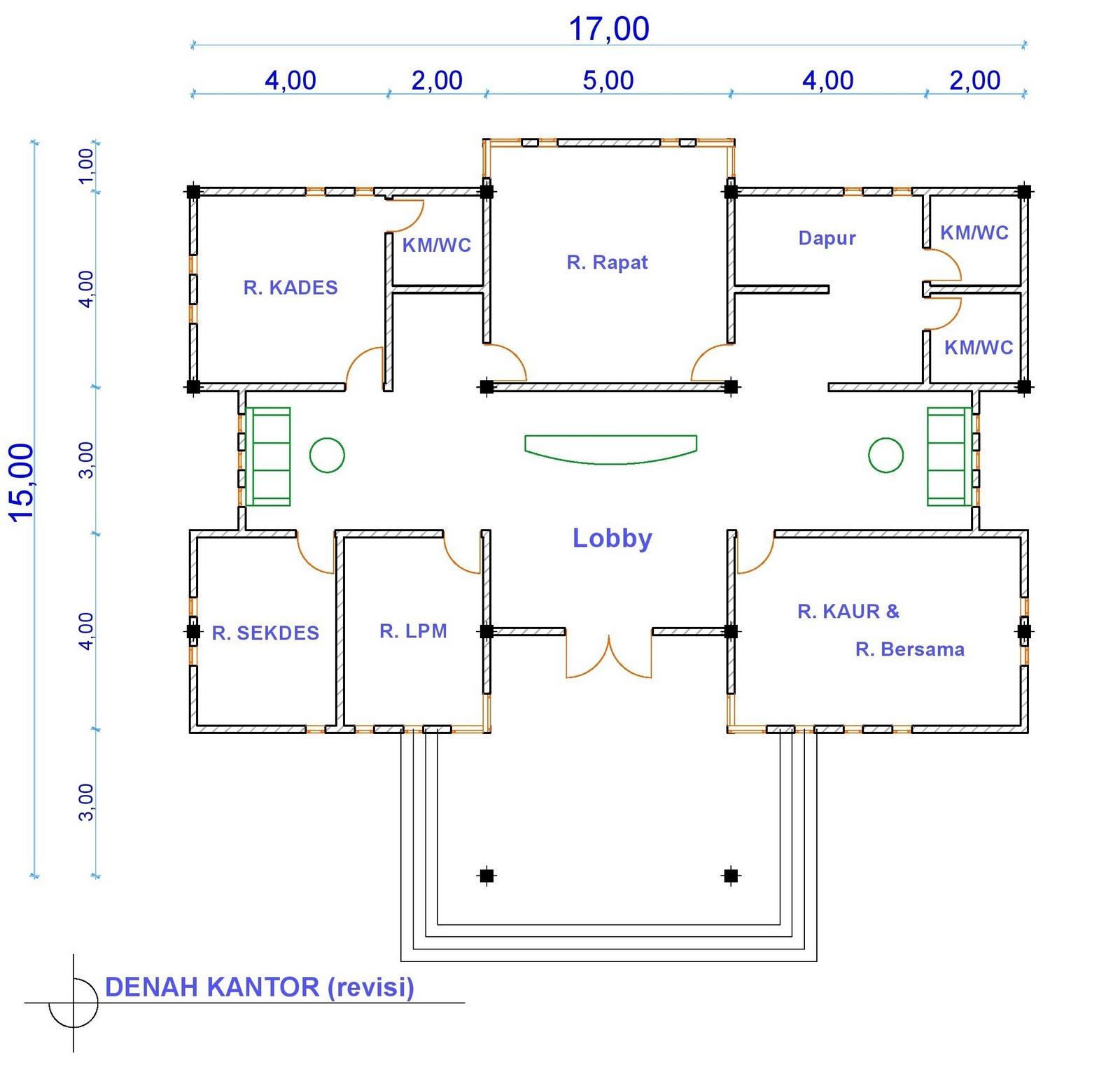 Download Denah Kantor Kelurahan