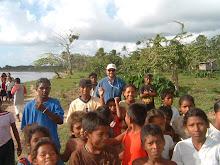 RSA in Nicaragua. Visiting a Rio Coco community (Feb. 2008).