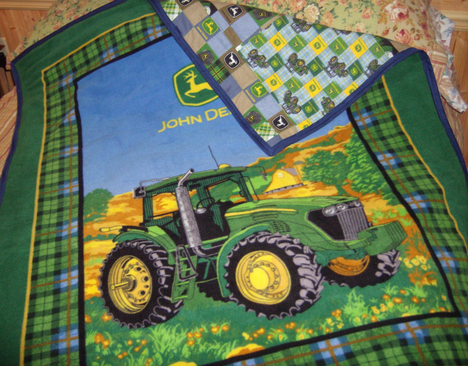 John Deere Embroidery Designs Collections : John deer embroidery « origami