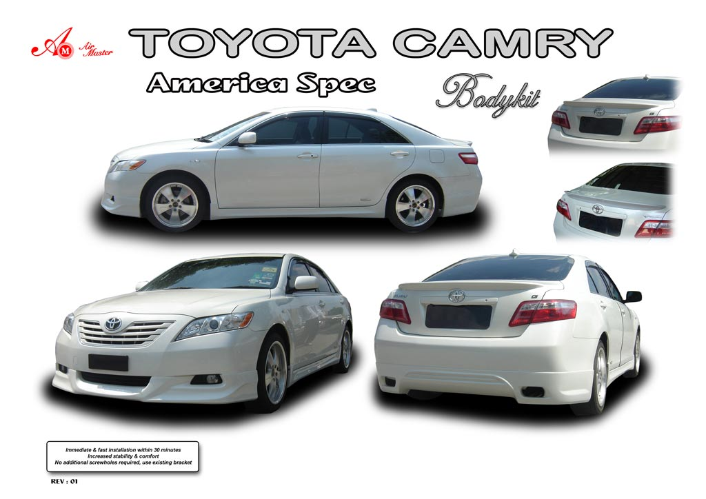 07 camry body kit diffraction photos. Black Bedroom Furniture Sets. Home Design Ideas