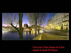 Paris - Chevet de Notre Dame