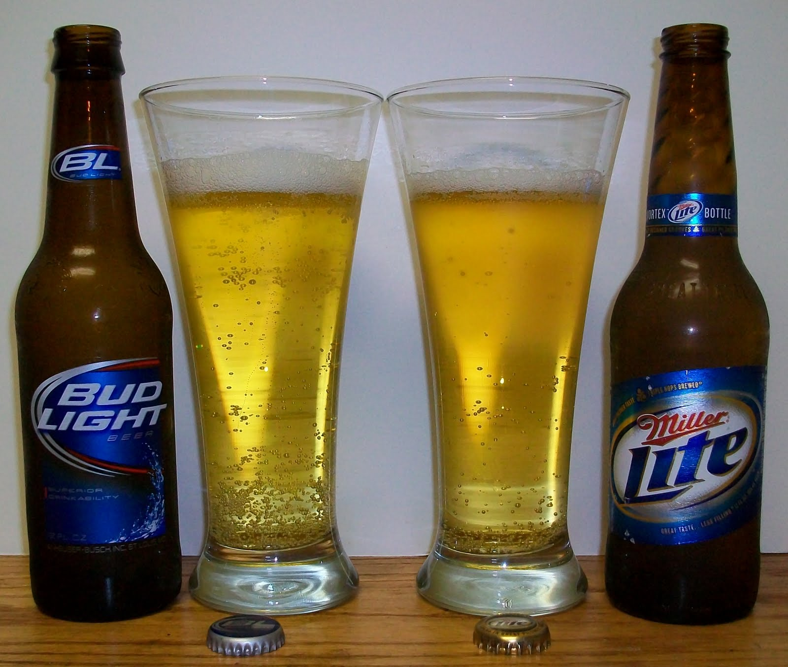 Bud Light Vs. Miller Lite