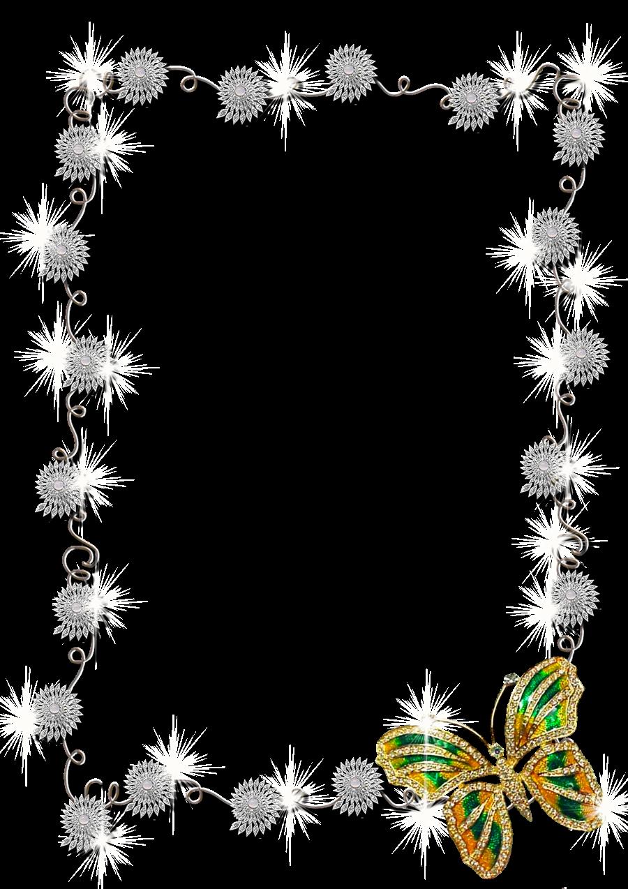 Galería de fotos e imágenes de marcos y bordes de flores .