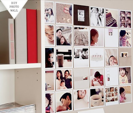 Diy photo wall mural de fotos f cil y sencillo for Diy photographic mural