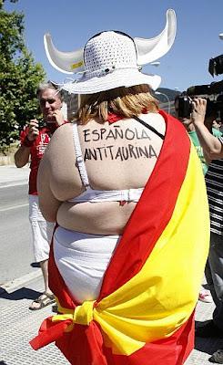 Antitaurina cañí (Foto AFP)