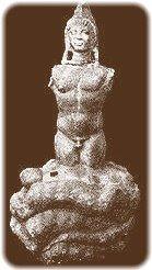 Mithras, naciendo de la roca