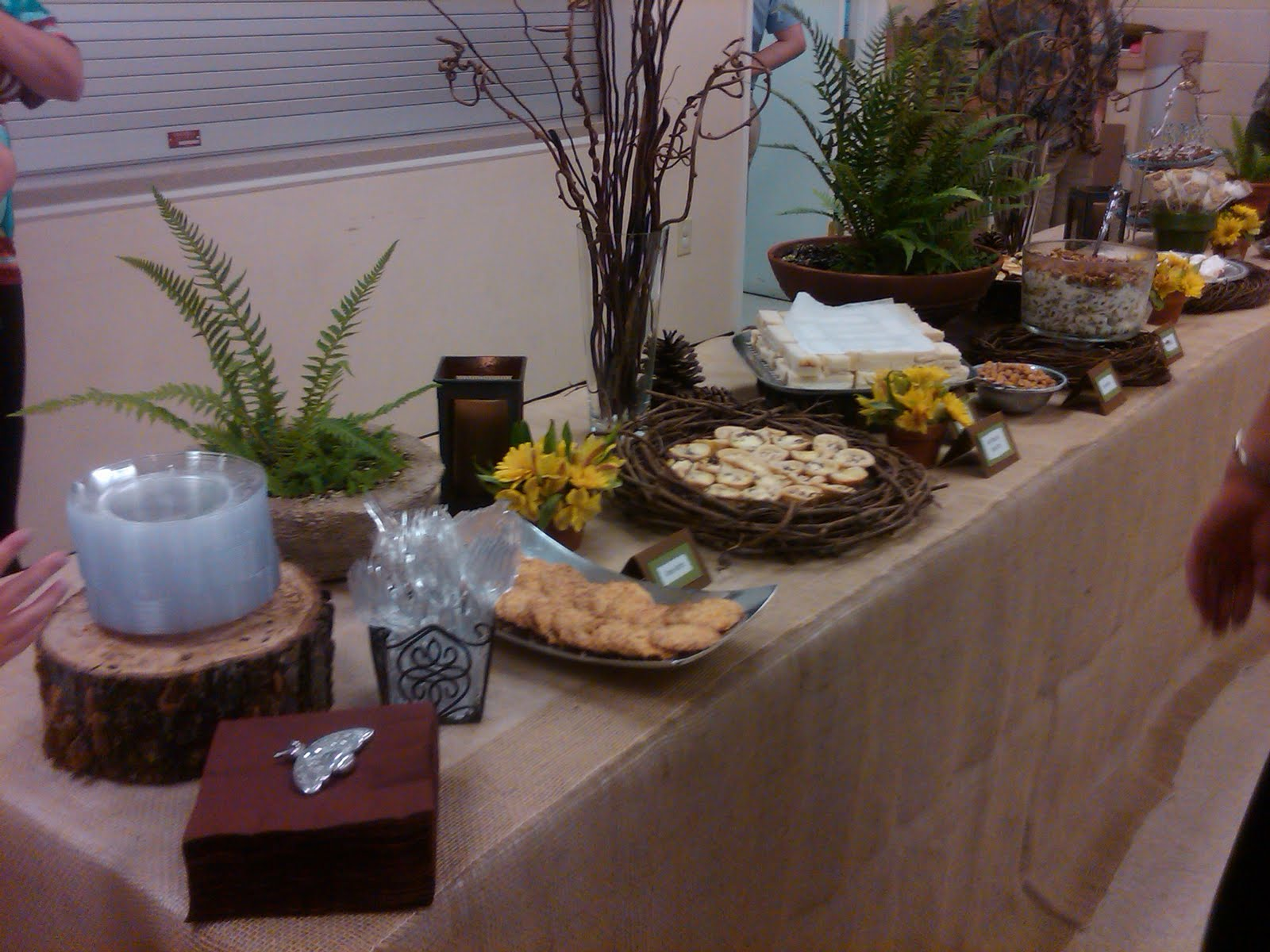 these pics were from the woodland baby shower for baby fife my