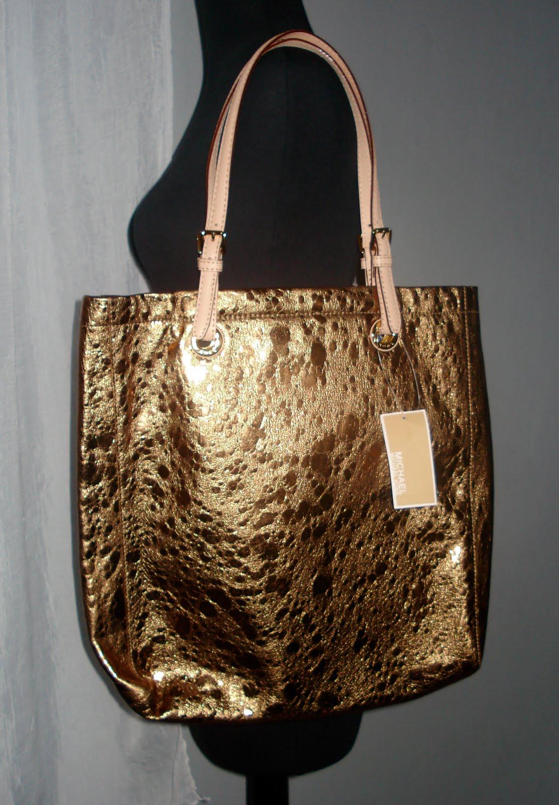 Bolsa Dourada : Fashion finder s favorites bolsa michael kors dourada
