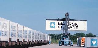 contenedores marítimos por tren