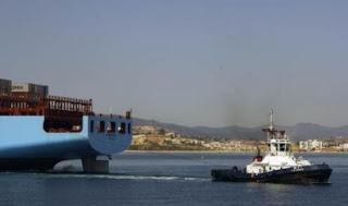 74,5 millones de toneladas pasan anualmente por las instalaciones portuarias de la bahía de Algeciras