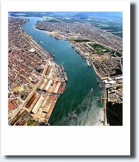 porto de Santos - port of Santos