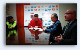 La APBA y el Ayuntamiento de Tarifa firman un Convenio de Colaboración en Materia de Protección y Seguridad