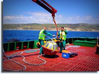 La APBA fondea dos boyas oceanográficas que emiten útil información en tiempo real