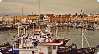 Vista de la Plaza Mirador desde el puerto de Tarifa