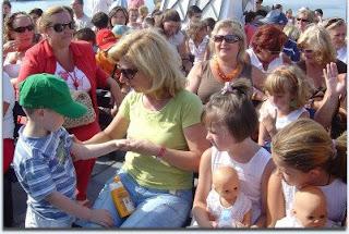 Los niños ucranianos, de vacaciones en Algeciras