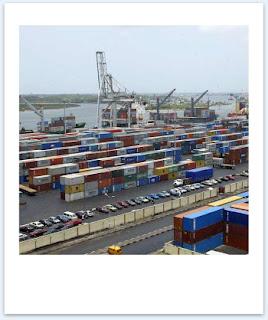 puerto de Apapa, en Lagos