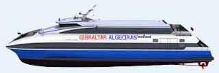 Fast ferry Gibraltar-Algeciras