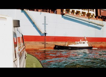 Maniobra Prácticos del Puerto Bahía de Algeciras
