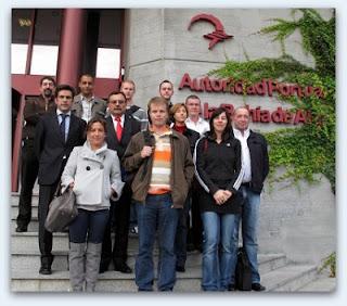 Aduanero Europeos en Algeciras