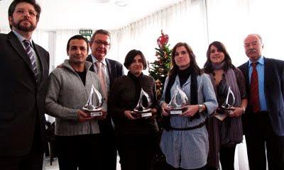 Premios del X concurso periodístico Puerto Bahía de Algeciras