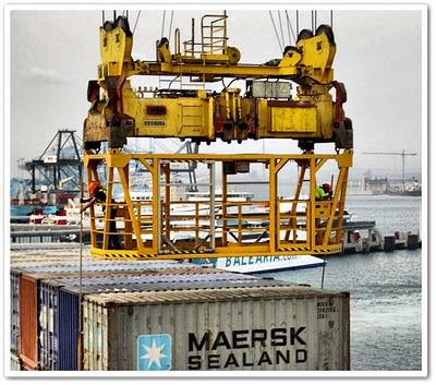 estibadores portuarios