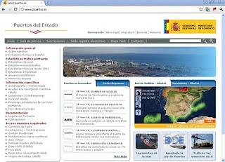 nueva web puertos del estado