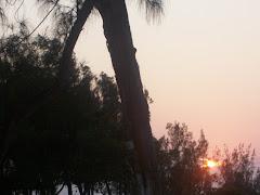 Nascer do  sol em Fortaleza/Ce
