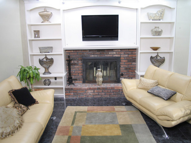 Adorned abode archive post one for megan shelving ideas for fireplaces in this next photo i thought this was another great do it yourself idea for megan this appears to require less work than built in shelves and offers a solutioingenieria Images