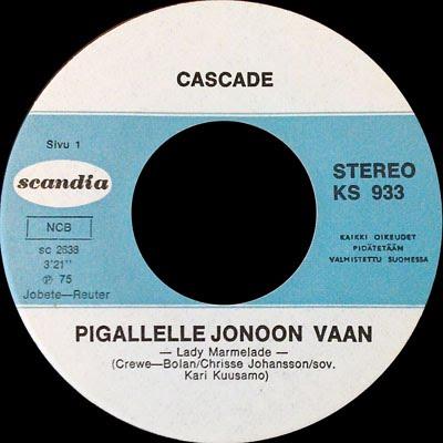 Cascade - Pigallelle Jonoon Vaan - Angie Baby