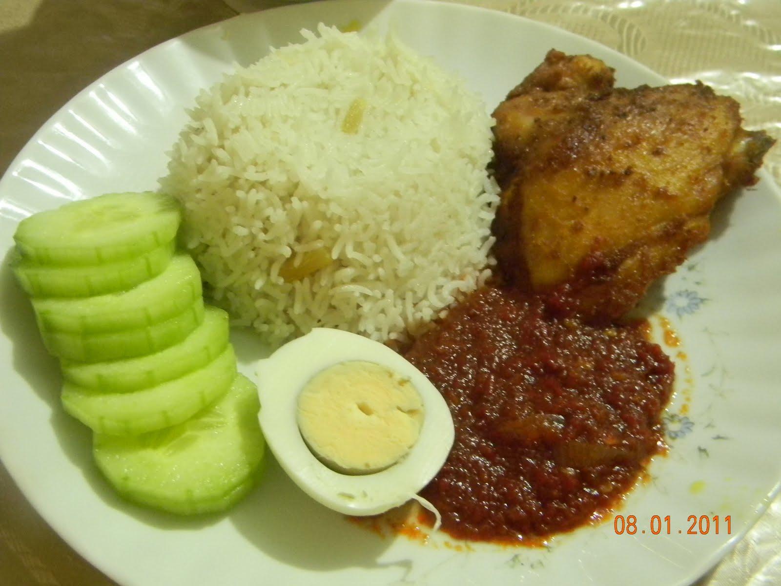 What I Have Cooked: Nasi Lemak Ayam Berempah