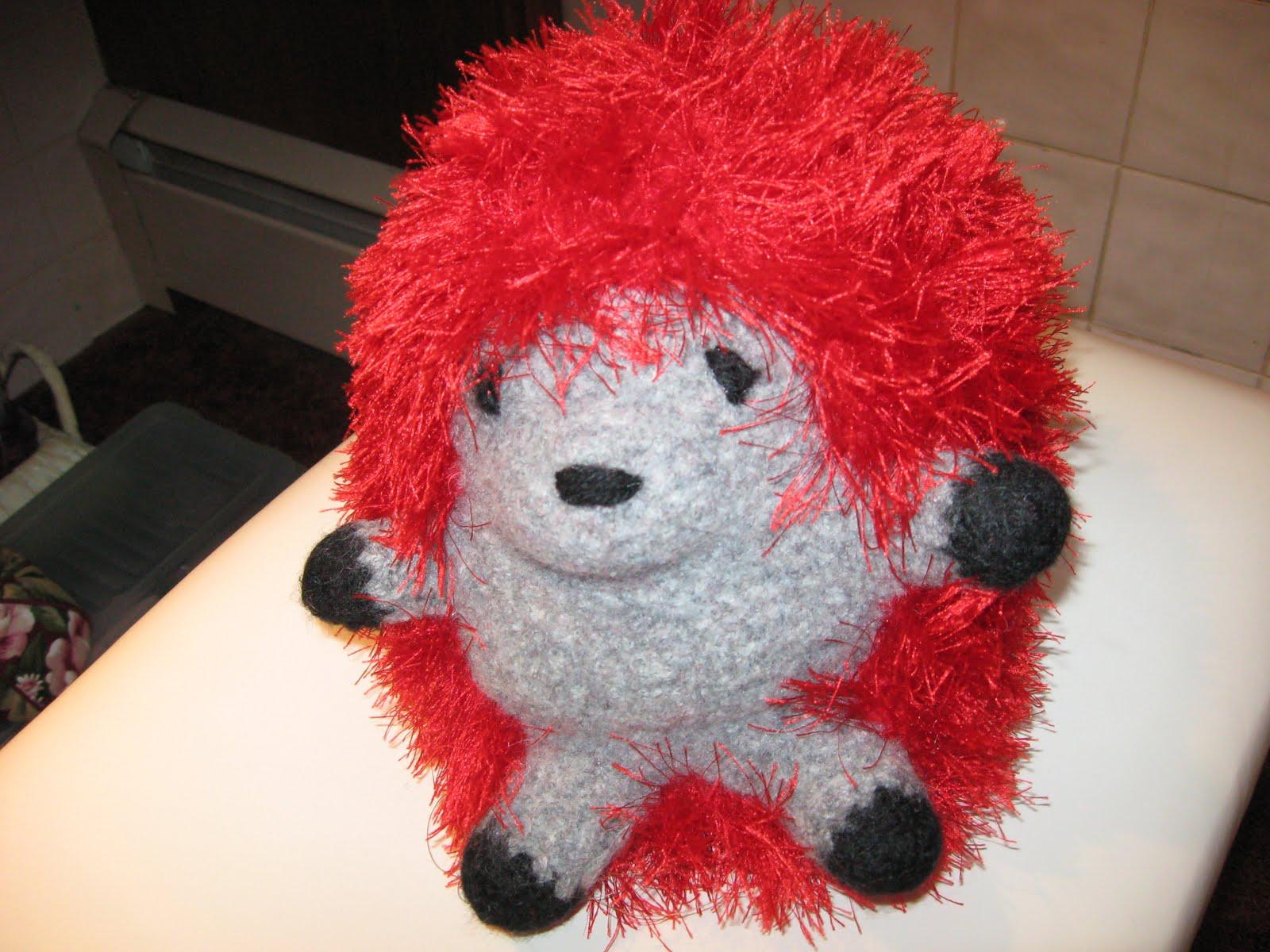 Huggable Hedgehog Knitting Pattern : luvtoknitandmuchmore