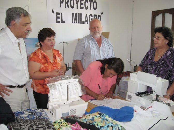 Municipalidad de goya a trav s del seguro de capacitaci n for Oficina empleo goya