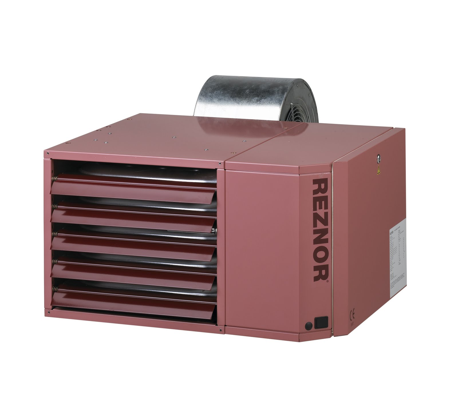 Reznor warm air heaters provide cost savings for commercial udsb new high efficiency warm air heater from reznor sciox Gallery