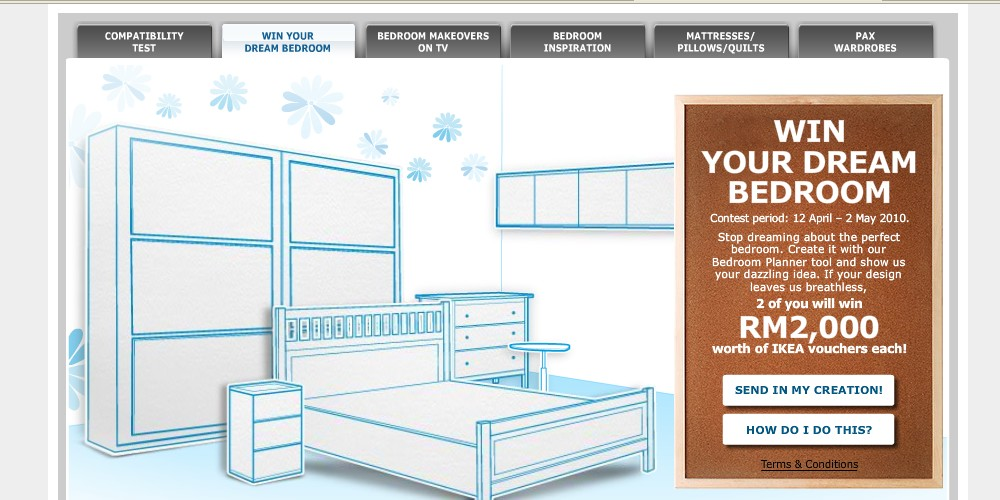(Malaysia) IKEA   Win Your Dream Bedroom!