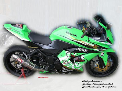 Image of Modification Ninja 250r