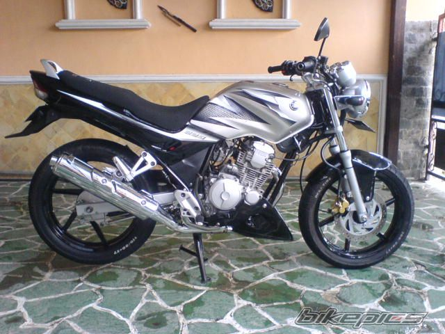 MOdification Yamaha Scorpio
