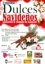 CARTEL DEL CONCURSO DE DULCES NAVIDEÑOS