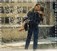 kiss rain romance couples wallpaper
