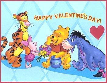 Winnie The Pooh Valentine's Day Wallpaper
