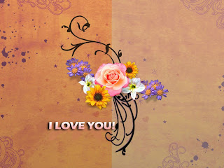 Free I Love You Wallpaper