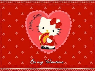 Hello Kitty Valentines Day Wallpaper