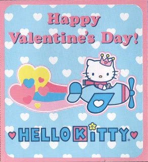 Hello Kitty Cartoon Valentine Wallpapers