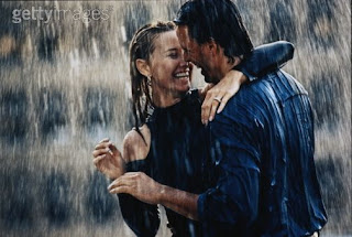 Couple In Rain Wallpapers