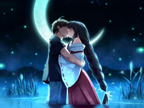 anime love hugging. Anime Love Wallpapers, Anime