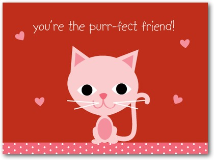 Valentine Cards June 2010 – Cat Valentine Card