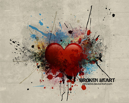broken heart quotes wallpaper. Broken Heart Wallpapers