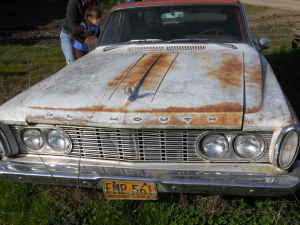 american-find: 1963 Plymouth Fury Wagon 361 Commando