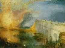 The burning of the Houses of lords and commons (Turner)