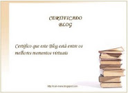 Certificado Blog!