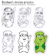 Booboo, a cute and comical cartoon character